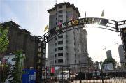桦林彩�城外景图