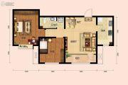 房信彩虹城2室2厅1卫0平方米户型图
