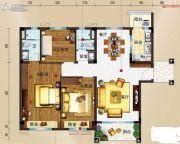 玉林碧桂园3室2厅2卫127平方米户型图