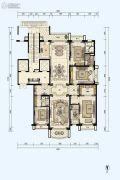 星河湾半岛4室2厅4卫285平方米户型图