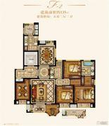 金城豪庭5室2厅2卫135平方米户型图