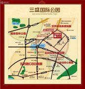 三盛国际公园・香樟里规划图