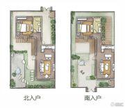 热河饮马川1室1厅1卫65平方米户型图