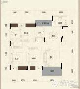 美的城3室2厅3卫0平方米户型图