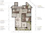 重庆・阳光城3室2厅3卫0平方米户型图