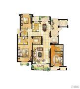 君悦豪庭3室2厅3卫0平方米户型图