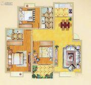 奥体清华苑3室2厅1卫93平方米户型图