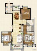 宝能城3室1厅2卫143平方米户型图