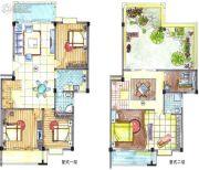 华英・翠湖居4室2厅2卫150--250平方米户型图