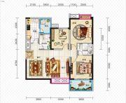 久安新坐标3室2厅2卫114平方米户型图