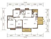 山水一品0室0厅0卫133平方米户型图