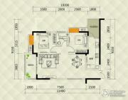 兴茂盛世国际2室0厅1卫71--78平方米户型图