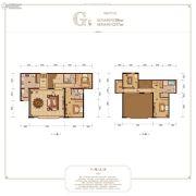 融创白象街4室3厅2卫182平方米户型图