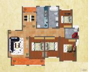 友谊嘉御龙庭4室2厅2卫165--181平方米户型图