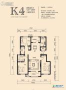 香邑溪谷3室2厅2卫122--128平方米户型图