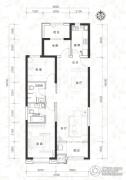 当代MOMA沿湖城3室2厅2卫115平方米户型图