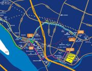 恒大山水城交通图