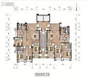 和平金丰广场3室2厅2卫0平方米户型图