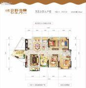 中熙・君墅湾5室2厅2卫0平方米户型图