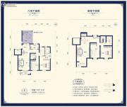阳光揽胜4室3厅3卫196平方米户型图