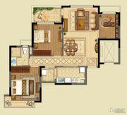 恒大山水城3室2厅1卫105平方米户型图