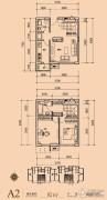 长阳光和作用第Ⅱ季2室1厅1卫82平方米户型图
