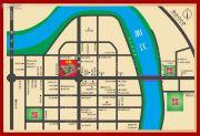 衡南县商业步行街交通图
