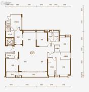 保利东江首府5室2厅2卫280平方米户型图