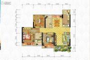 中房优山PLUS2室2厅2卫97平方米户型图