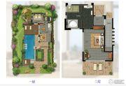 华凯南燕湾2室2厅2卫152平方米户型图