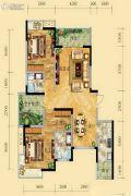 祥和御馨园二期2室2厅2卫108平方米户型图