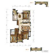恒大・龙溪翡翠4室2厅2卫180平方米户型图