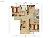 远洋世界三期水岸一方3室2厅2卫103平方米户型图