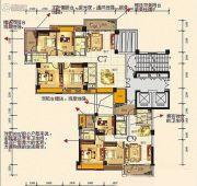 汇龙・万宝国际城130平方米户型图