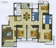 新加坡尚锦城4室2厅2卫165平方米户型图