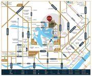 金银湖1号院交通图