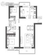 万象汇・润府3室2厅2卫139平方米户型图