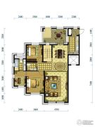 水韵豪庭3室2厅2卫138平方米户型图