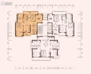 充耀盛荟4室2厅2卫152--156平方米户型图