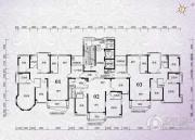 锦绣国际花城4室2厅2卫175平方米户型图