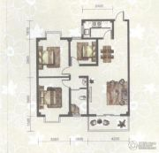 东苑小区3室2厅1卫98平方米户型图