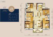 龙光玖龙湾4室2厅3卫169平方米户型图
