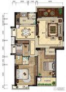 悦泰春天3室2厅2卫118平方米户型图