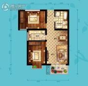 北海・水印泉山2室2厅1卫91平方米户型图