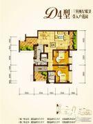 兴业新城3室2厅2卫115--129平方米户型图
