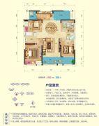 乾通・时代广场4室2厅2卫137平方米户型图