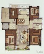 中冶盛世滨江4室2厅2卫165平方米户型图
