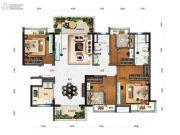 碧桂园澜山4室2厅2卫0平方米户型图