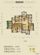融创前海中心4室2厅2卫160平方米户型图