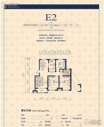 京都城2室2厅1卫110--112平方米户型图